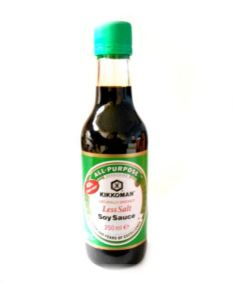 Kikkoman Less Salt Soy Sauce | Buy Online at The Asian Cookshop